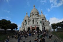 Montmartre / Well known for the famous Basilique of Sacre Coeur, which offers a unique view over Paris. It is a mix of different styles and cultures where tourists, street artists and performers animate the streets. Read more: http://parisbym.com/montmartre-tour/