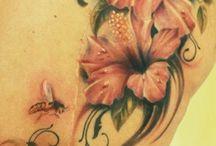 Flower tattoo's ❤️❤️