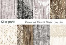 Papers / DIGITAL PAPERS, Lace Digital, Papers. Wedding, Wood Digital Papers, flowers papers, Chalkboard Papers,