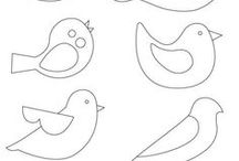 dibujos de pajaros