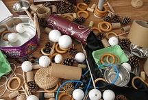 Heuristic play, treasure baskets / by Brenda Murray