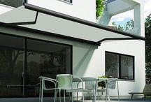 Terrassemarkiser / En terrassemarkise for livet - udført i de bedste materialer.