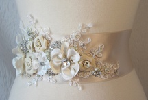 Sash yes please! / Flower girl bridal sash, beautiful flowers sash, custom wedding bridal sash