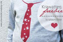Krawatten-Freebie - schaumzucker