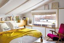 Dormitorio con cama 2x2