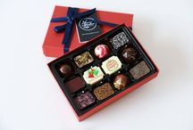 Christmas Chocolates selection / Let delicious chocolates do the talking this Christmas