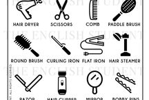 English for hairdressers