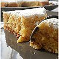 tarte aux amandes et au citron