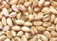 Greek inshell pistachios naturally opened