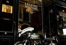 Motos Racer Café