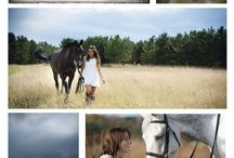horses and girls