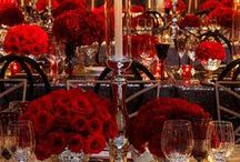 red&gold setting
