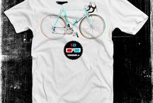 Bicycle design T-shirts / by ethnographics