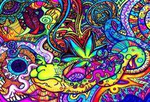 Psychedelic acid art