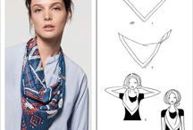 Hermes scarf / How to wear it