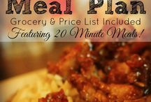 Meal planning on a budget / Meal planning and recipes for those on a limited budget.
