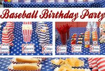 Baseball Birthday Party