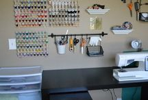 Home - Sewing space