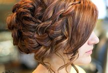 Wedding Hair / How do you want your hair on your special day? What style will suite your dress?