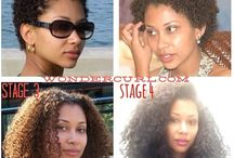 Everything About Natural Hair / by ChaChanna Simpson
