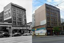Vancouver: Then & Now / Places and spaces around Vancouver in the past compared to what those same spots look like today. / by Forbidden Vancouver