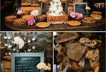 Eat! / Fall Wedding Party Food Ideas!
