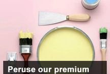 Peruse premium paints