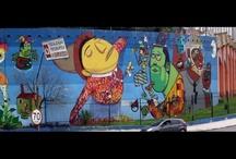 graffiti and street art / by Annie Hammer