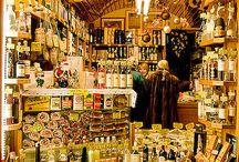 Negozi di gastronomia e mercati