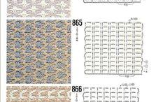 crochet _ stitches 999… غرز كروشية / by Ramia