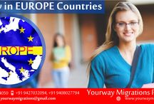 Study in Europe Countries / Looking to study in Europe? Get started here... For more Details Visit ones at :  YOURWAY MIGRATIONS PVT.LTD.!!! Contact No. :-  7046019994, 9408027794