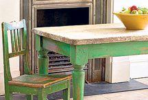 furniture renovation / bringing new life to old stuff