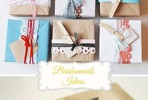 Wedding bridesmaid gift ideas
