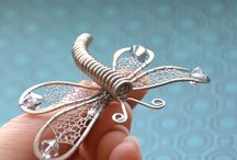 Wire  art  dragonfly     トンボ