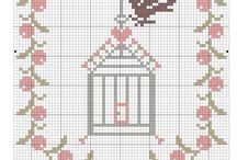 çarpı işi/cross stitch
