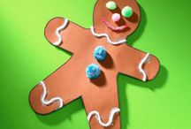 Gingerbread Crafts & Activities / All things gingerbread! Great crafts for early childhood classroom reading any of The Gingerbread Boy stories!
