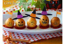 ハロウィンの料理