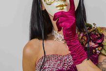 FANTASY  cosplay / Theater en Feest kleding foto shoot zig-zag