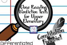 4th Grade: Informational Text / by Jennifer D'Amato-Figueroa