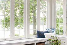 I can dream.....living room doors/windows