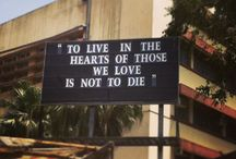 The Message Board / Awesome thoughts & messages put up on the message board at St. Michael's Church, Mahim, Mumbai.