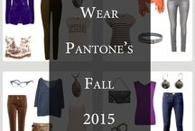 Color in your Wardrobe / Incorporating color palettes, Pantone colors, etc., into your clothes.