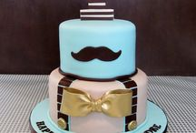 Mustache Cakes