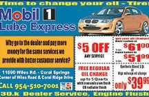 Florida oil change coupons, Coral Springs oil change coupons