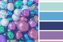 Kleuren pallets