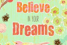 sonhos são feitos para sonhar e creditar que Deus faz o impossível acontecer!!