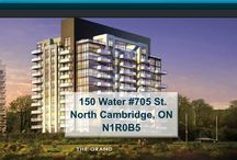 150 Water #705 St. North Cambridge, ON N1R0B5 / MLS# 30535277  Breathtaking terrace/river views & a maintenance free lifestyle in your new home. Welcome to the Grand. Cambridge's newest & most exciting developments on the banks of the Grand River. Walk to downtown Galt for shopping, restaurants, Cambridge farmers' market, Dunfield theatre & the Cambridge public library.   For more info, visit http://goo.gl/M7d61c