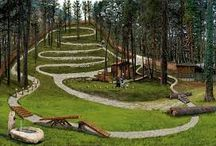 Backyard bmx tracks