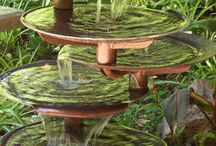 bird baths / by Debbie Gwynn
