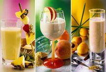 Gesunde Getränke / Gesunde Getränke - Grüne Smoothies, Frucht-Smoothies, entgiftende Getränke, Detox-Drinks, leckere Shakes zum Abnehmen ...